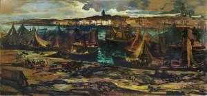 Port de Boulogne-sur-Mer : André Boul , 1949 /restauration : Ghü , octobre 2015